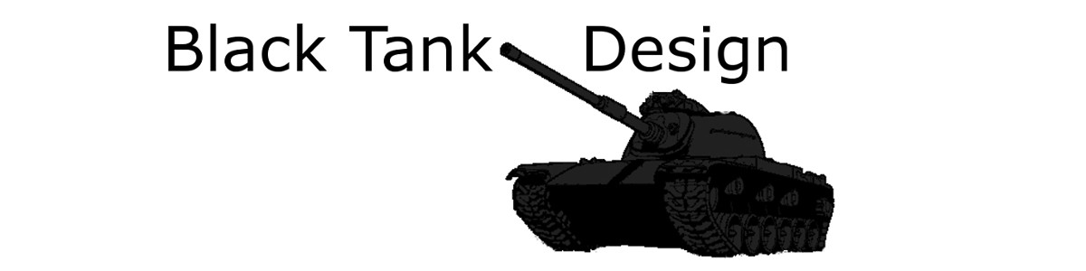 Black Tank Design Logo